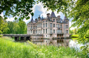 Wandeling rond het kasteel van Poeke